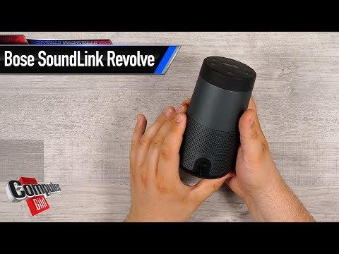 Bose Soundlink Revolve: Bluetooth-Laustprecher im Test
