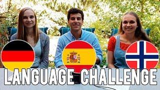 LANGUAGE CHALLENGE   GERMAN vs SPANISH vs NORWEGIAN
