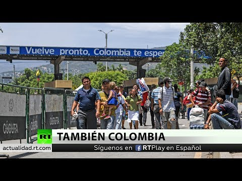 Colombia cierra todos sus pasos fronterizos por la huelga nacional contra Ivan Duque