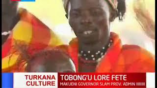 Turkana constituents celebrate Tobong'u Lore Fete