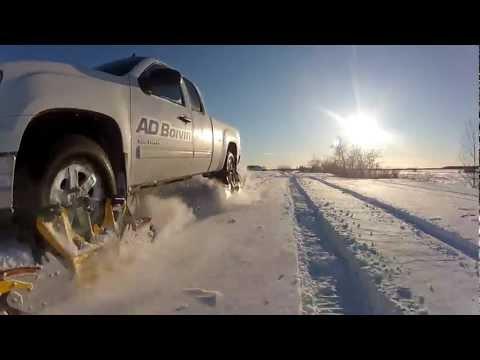ג`יפ עם גלגלי שלג - מהפכני!