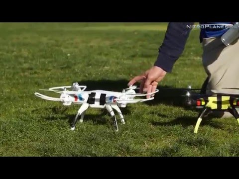 Syma X8C Beginner Drone Quadcopter Crash Test