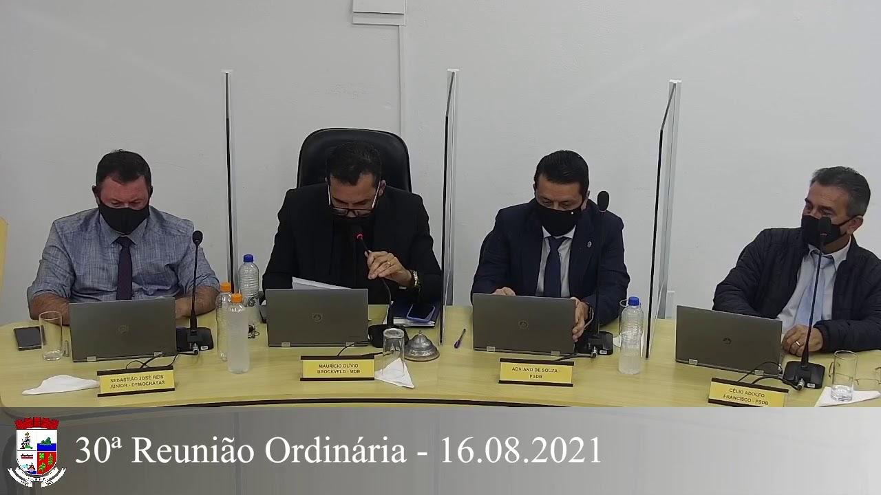30ª Reunião Ordinária