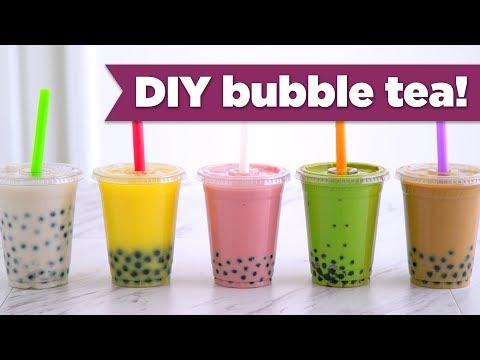 Video DIY Boba / Bubble Tea! Healthy Recipes - Mind Over Munch