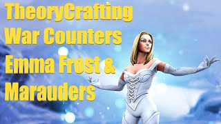 TheoryCrafting Emma Frost & Marauders War Counters - Marvel Strike Force