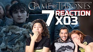 "GAME OF THRONES SEASON 7 EPISODE 3 REACTION ""The Queen's Justice"" (7x03)"