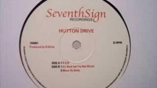 Hutton Drive - It's Dark But I'm Not Afraid