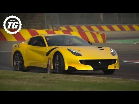 INSANE! Chris Harris Drives The Ferrari F12 TDF   Top Gear