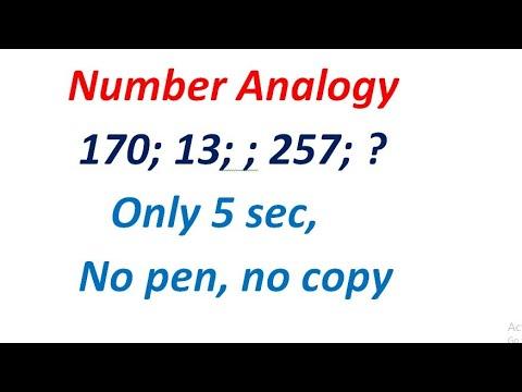Number analogy reasoning  सबैभन्दा सजिलो तरिका officer , nasu kharidar only 5 sec