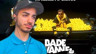 WARTESCHLANGE ZUR BADEWANNE 😂 KC Rebell Feat. Gringo   Badewanne (prod. By Juh Dee)   Reaction