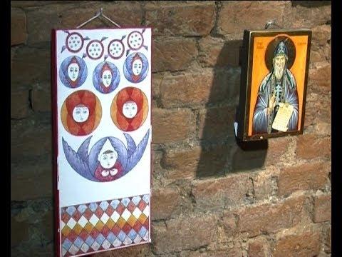 У підвалі Свято-Троїцького кафедрального собору -  виставка ікон - YouTube