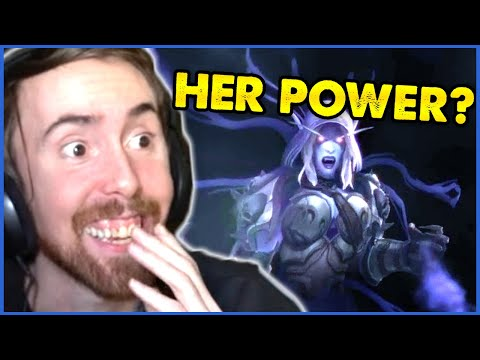 """Asmongold Reacts to """"HER Power REVEALED!"""" Shadowlands SHAKES UP WoW Lore: New Reveals & MORE!"""
