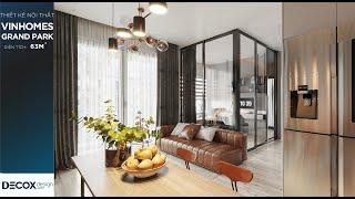 Mẫu thiết kế nội thất phong cách Hiện đại ở Vinhomes Grand...