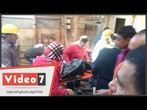 مشاهد من موقع انفجار الكاتدرائية بالقاهرة