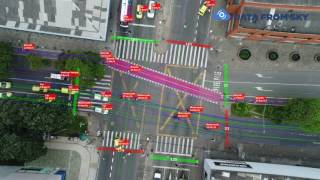 Traffic monitoring using drones