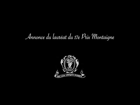 Jean Birnbaum - Prix Montaigne 2019