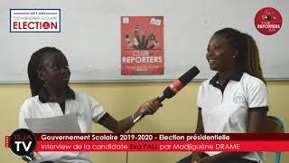 Gouvernement scolaire : Interview des candidats à l'élection présidentielle