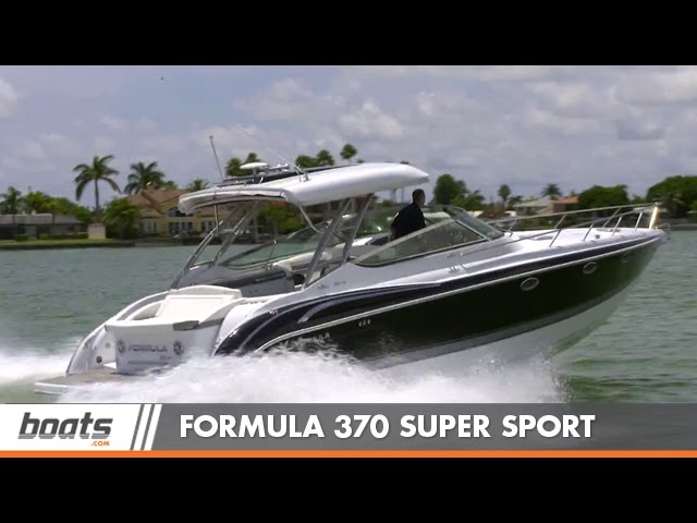 Formula 370 Super Sport: Boat Review / Performance Test