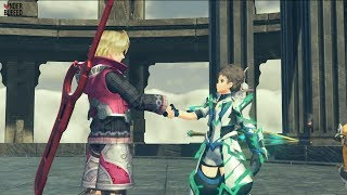 [Xenoblade Chronicles 2] Rex Meets Shulk And Fiora (Challenge Mode Introduction)