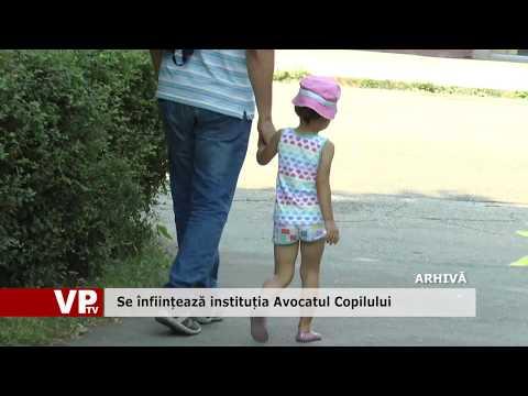 Se înființează instituția Avocatul Copilului