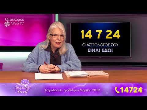 Αστρολογικές Προβλέψεις Μαρτίου 2019 σε βίντεο