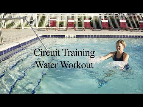 Upper Body AQUA CIRCUIT TRAINING#1 - WECOACH
