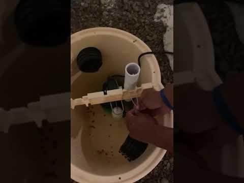 Sump Pump Installation Time-lapse in Zumbrota, MN