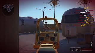 My Skill Moments #3 Gold Desert Tech MDR‐C Warface