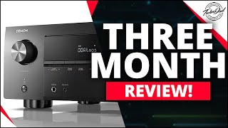 Denon AVR-X3600H Three Month Review | Best AVR of 2020?
