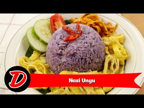 Video Resep Nasi Ungu