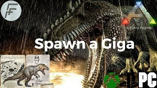 giganotosaurus ark spawn code - TH-Clip