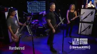 "Metallica ""Hardwired"" Live on the Howard Stern Show"