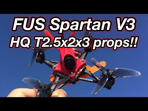 Spartan v3 HQ prop T2.5x2x3V2S 3s and 4s Flights