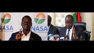Raila Odinga condemns interior cabinet secretary Fred Matiang'i's attacks on the Judiciary