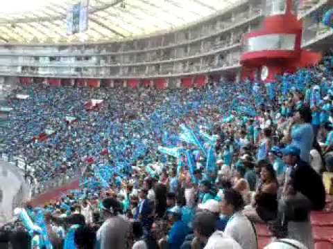 """Ohh Se Quedan Callados ESOS PECHOS CONGELADOS - Clasico CRISTAL vs Cagones"" Barra: Extremo Celeste • Club: Sporting Cristal • País: Peru"