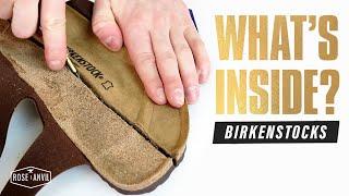 Why Is Burlap In Birkenstocks? - (CUT IN HALF) - Birkenstock Review