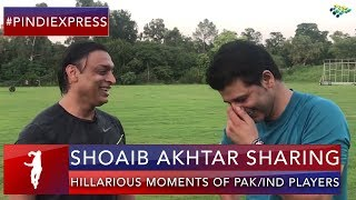 Shoaib Akhtar | Hilarious Moments | Special Message of Peace | Down Memory Lane