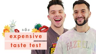 YouTubers FaZe Adapt & FaZe Temperrr Go Head-to-Head in Our Expensive Taste Test | Cosmopolitan by Cosmopolitan