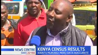 Residents of Nyeri county dispute the Census 2019 results