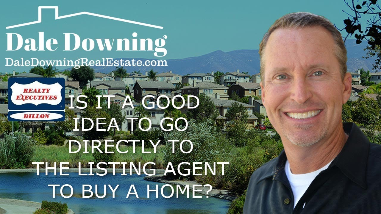 Is it a good idea to go directly to the listing agent to buy a home?