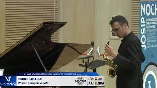 Bruno Carmargo plays Sonata by William Albright