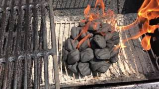 How to start a Charcoal Grill Quickly.