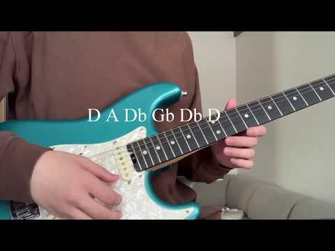 זה מה שקורה שמכוונים את הגיטרה אחרת