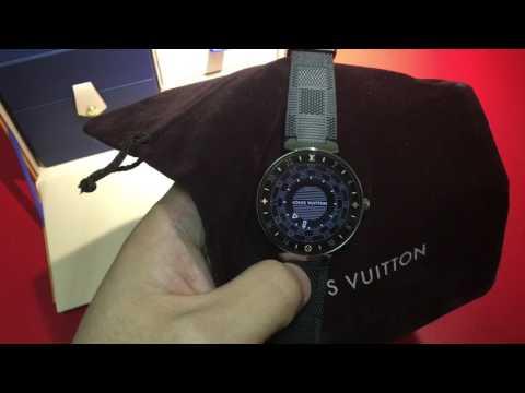 《ChArLes.Hao》LOUIS VUITTON Tambour Horizon智能腕錶開箱(中文字幕)