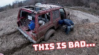 We Went MUDDING With our Subscribers! (Everyone Got Stuck)