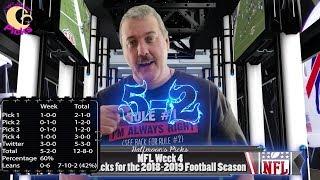 nfl week 4 2018 picks - मुफ्त ऑनलाइन वीडियो