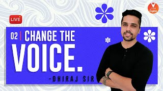Change the voice -2  | Active and Passive Voice - 2 | Intermediate English Grammar | V Learn English