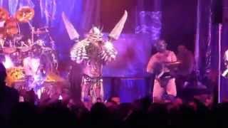 GWAR - Get Outta My Dreams, Get Into My Car (Houston 10.24.13) [Billy Ocean cover] HD