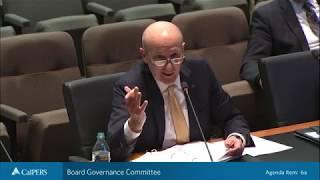 Board Governance Committee on September 24, 2018