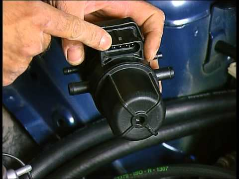 Die Kraftstoffpumpe schwingt das Benzin in den Filter nicht